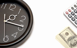 Concept Of Time Is Money Royalty Free Stock Photos