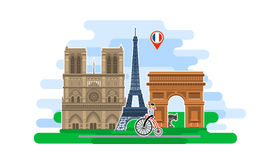 Free Concept Of Travel Or Studying French. Stock Image - 72924211