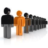 Concept Of Uniqueness Stock Photo
