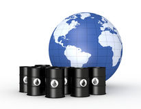 Concept of oil market Stock Image