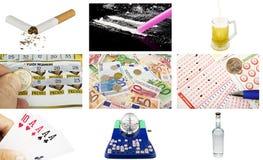Concept ondeugd Stock Fotografie