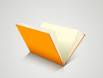 Concept of a open book. Stock Photography