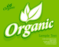 Concept organic banner Stock Images