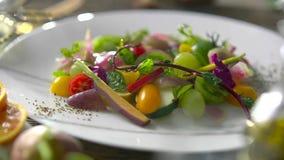 Concept organique délicieux sain de repas de Tableau de nourriture photos stock