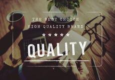 Concept original de marque de garantie de haute qualité de l'exclusivité 100% image libre de droits