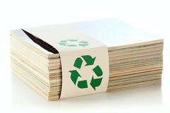 Concept of paper recycling Stock Photography