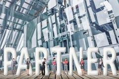 Concept partner Stock Fotografie