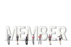Concept of partner Stock Photos