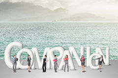 Concept of partner Royalty Free Stock Photos