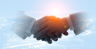 Concept of partnership and collaboration stock photo