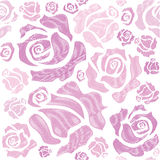 Concept pattern of red roses Royalty Free Stock Images