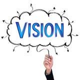 Concept  pencil idea hand isolate write blue vision business. Concept  pencil idea hand isolate write blue vision business illustration vector Stock Image