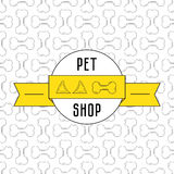 Concept for pet shop Stock Images