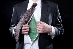 Bionic Businessman Royalty Free Stock Photo