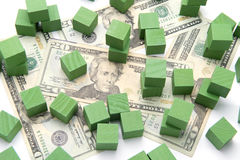 Concept Green Investing Stock Images