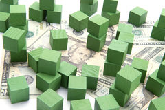 Concept Green Investing Royalty Free Stock Photo