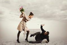 Concept Photo Of Quarrel Royalty Free Stock Photos