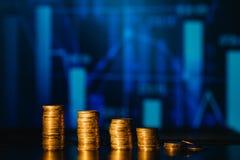 Concept photo progressive increase in profits