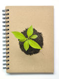 Concept Picture Of Recycle Notebook Royalty Free Stock Images