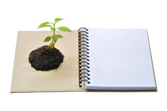 Concept Picture Of Recycle Notebook Stock Photos
