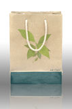 Concept picture of recycle paper bag Royalty Free Stock Photos
