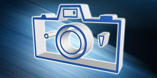 Concept of pictures sharing. Illustration of a pictures sharing concept vector illustration