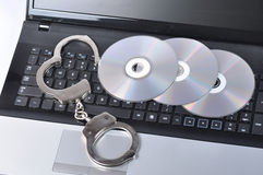 Concept of piracy Stock Photo
