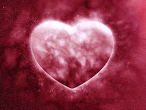 Concept planet of the heart Royalty Free Stock Image