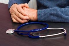 Concept plus âgé de soins de santé Photographie stock libre de droits