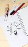 Concept pour des idées Image stock