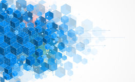 Concept pour l'entreprise constituée en société et le développement de nouvelle technologie Image libre de droits
