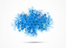 Concept pour l'entreprise constituée en société et le développement de nouvelle technologie photographie stock
