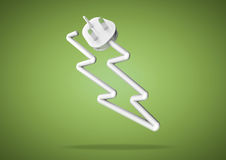 Concept pour la façon dont nous comptons sur l'électricité pour actionner notre a électrique Images stock