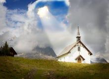 Concept pour le christianisme, un dieu, opinion, allégement photographie stock libre de droits
