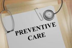 Concept préventif de soin Photo libre de droits