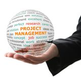 Concept of Project management in business Stock Photography