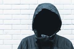 Concept protégé d'identité de témoin images libres de droits