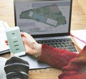 Concept public de plan de relaxation de la Communauté de village de Central Park image libre de droits