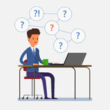 Concept of question. Stock Image