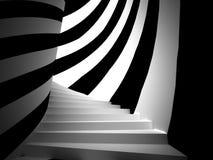 Concept rêveur d'escalier Photo libre de droits