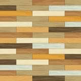Concept rayé de plancher en bois de tuile de vintage de vecteur Photos libres de droits