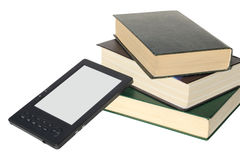 Concept for reading electronic books Royalty Free Stock Photography