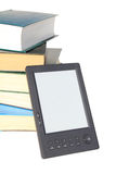 Concept for reading electronic books Stock Images