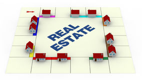 Concept of real estate Royalty Free Stock Image