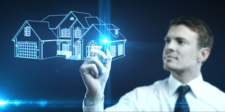 Concept real estate Royalty Free Stock Images