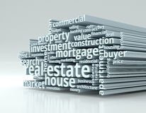 Concept of real estate Royalty Free Stock Photo