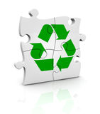 Concept of recycle Stock Image