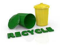 Concept of recycling Stock Photography