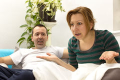 Concept relationship quarrel Royalty Free Stock Images