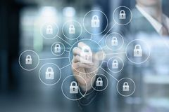 The concept is the reliable security principle royalty free stock images